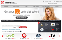 Domain.com发布8折优惠码,截至2013.7.31