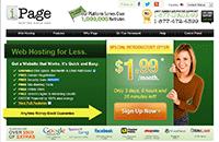 iPage主机优惠:25折特惠主机仅$1.99/月
