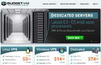 BudgetVM:$14.99年付/OpenVZ-128MB/10GB RAID 10/500GB 洛杉矶