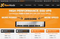 RamNode:$13.9年付/OpenVZ128MB/50GB SSD/500GB 西雅图&亚特兰大&纽约