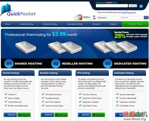 quickpacket-index