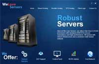 WeLoveServers:$12年付/OpenVZ-256MB/20GB/600GB 3数据中心